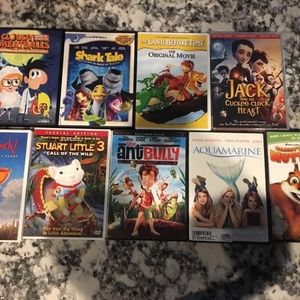 Other - Lot of 9 Children's DVD's
